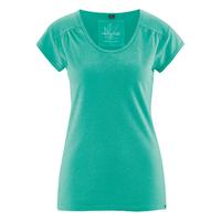 """T-shirt """"Nanni"""" manches courtes fantaisie - chanvre et coton bio"""
