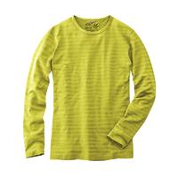T-shirt manches longues rayé - chanvre et coton bio