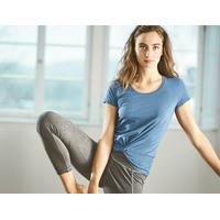 """T-shirt manches courtes femme avec noeud """"652"""" - coton bio et chanvre"""