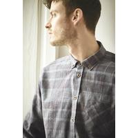 """Chemise à carreaux homme """"055"""" - chanvre et coton bio"""