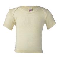 """T-shirt bébé manches courtes """"707500"""" - laine mérinos et soie"""