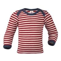 "T-shirt bébé à rayures ""427510"" - pure laine mérinos"
