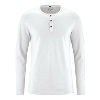 """T-shirt col mao """"833"""" - chanvre et coton bio"""