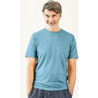 """T-shirt manches courtes homme """"841"""" - chanvre et coton bio"""
