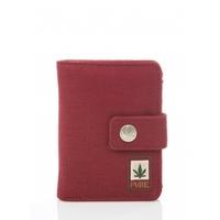 Portefeuille et porte-monnaie compact - chanvre et coton bio