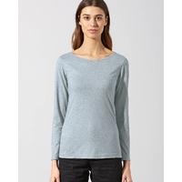 """T-shirt femme manches longues Yak """"669"""" - coton bio, chanvre et laine de Yak"""