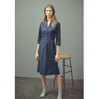 """Robe longue """"187"""" - chanvre et coton bio"""