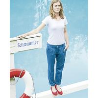 "Pantalon Chino femme ""Alice"" - chanvre et coton bio"