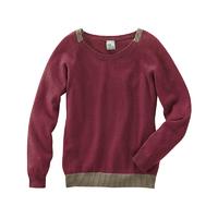 Pullover bicolore - chanvre et coton bio