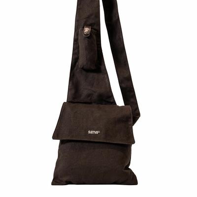 sac coton bio PS48 brown