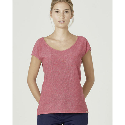 tee-shirt chanvre dh862_tomate