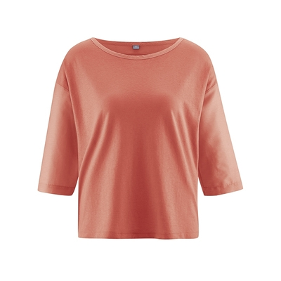 blouse bio pas chere dh141_orange_homard