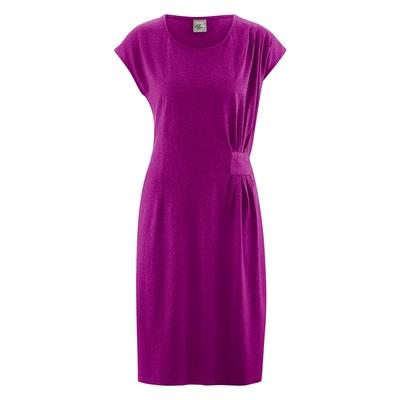 robe bio éthique DH133_violet_myrtille_berry