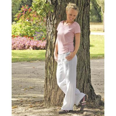 pantalon femme chanvre éthique dh512_blanc