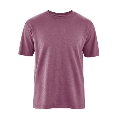 t-shirt manches courtes homme chanvre coton bio dh233_beaujolais