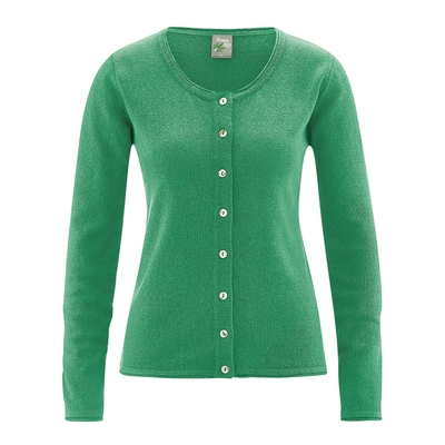 gilet coton bio femme dh323_vert_smaragd