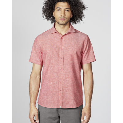 chemisette commerce équitable DH040 rouge tomate
