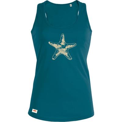 Debardeur OVIVO Starfish-bleu lagon woman