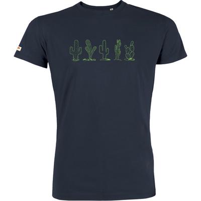 T-shirt OVIVO Cactus -bleu nuit-man
