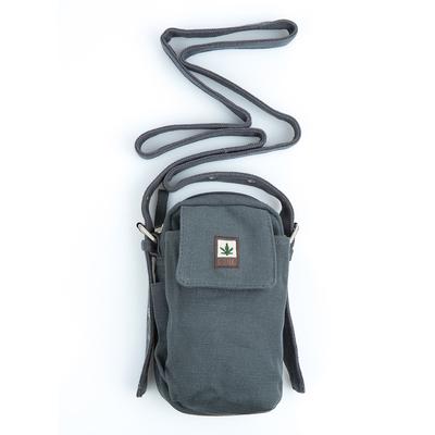 219a3147370b Petit sac bandoulière   Sac ceinture - chanvre et coton bio