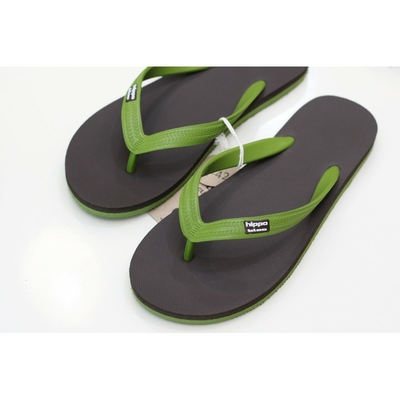 sandales bio brown-green