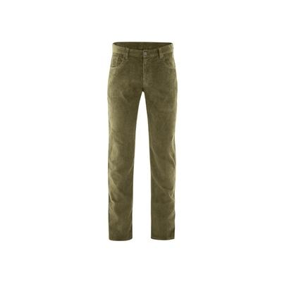 pantalon velours chanvre DH545_marron_tourbe