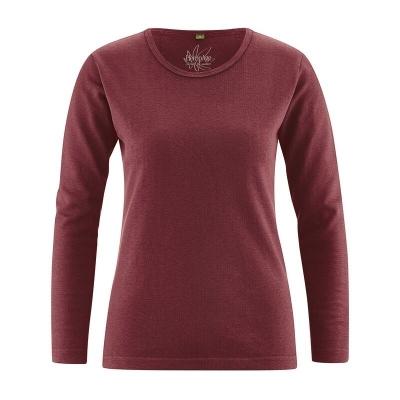 t-shirt bio femme DH207_acajou_chataigne