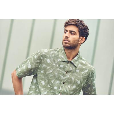 chemisette imprimée chanvre DH048