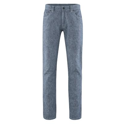 pantalon chanvre femme DH556_bleu_indigo_chiné
