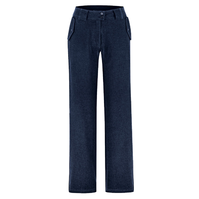 pantalon taille haute femme DH558_navy