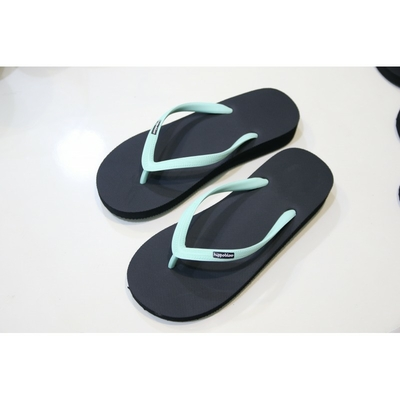 tongs hevea bermudes-high-heel-talon-haut-black-strap-mint-