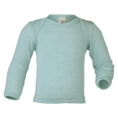 t-shirt bébé soie 707510_eau