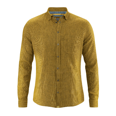 chemise chanvre homme DH030_peanut