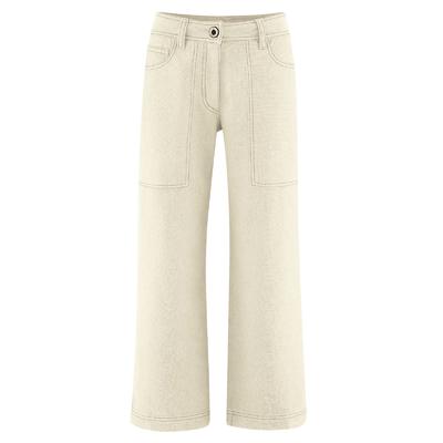 jupe culotte chanvre DH570_nature