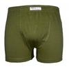 boxer-homme-coton-biologique -vert olive