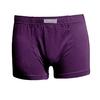 boxer-homme-coton-biologique- violet électrique