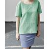 blouse chanvre dh150_jade