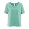 blouse bio equitable DH150_jade