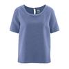 blouse commerce équitable DH150_blueberry