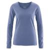 t-shirt manches longues chanvre DH861_blueberry