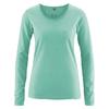 t-shirt manches longues équitable DH861_jade