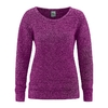 pull bio femme hiver épais dh352_violet_myrtille