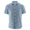 chemisette chanvre DH027_bleu_indigo