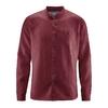 chemise éthique pur chanvre dh026_marron_chesnut