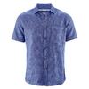 chemisette chanvre dh027_bleuet