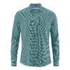 chemise chanvre soldes dh028_bleu_turquoise