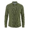 chemise coton bio soldes dh028_vert_laurier