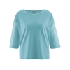 blouse bio soldes dh141_turquoise