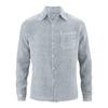 chemise bio éthique dh022_gris_platine