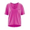 t-shirt femme bio équitable dh850_rose_bonbon